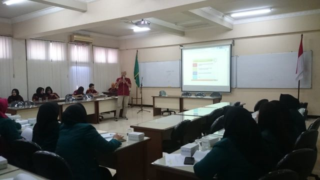 Sharing Session Company dan University Visit oleh Riza Amrullah