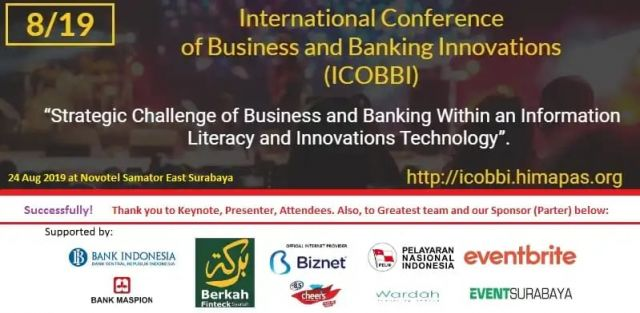 Success and thank you to everyone, see you ICOBBI 2020